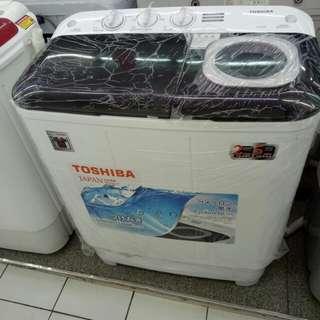 Toshiba mesin cuci 2 tabung