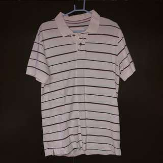 Pre-loved Striped Polo T-shirt