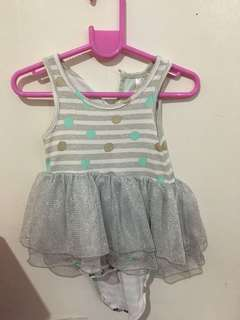 Hippo and Friends Baby Girl Dress