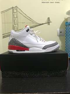 Air Jordan 3 White Cement Katrina