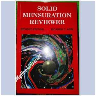 REVIEWER- Solid Mensuration by Asin