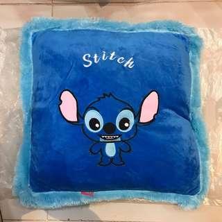 Stitch square pillow