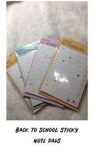 Notepad sticky notes