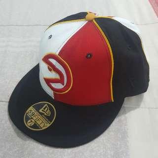 Legit Brand New Without Tags New Era NBA Atlanta Hawks Cap Hat 7 1/8