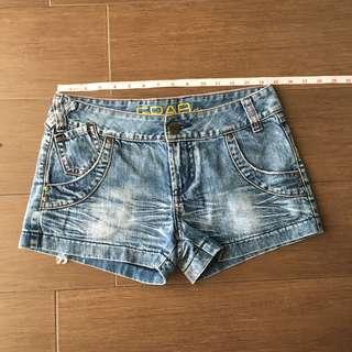 Authentic GRAB denim shorts