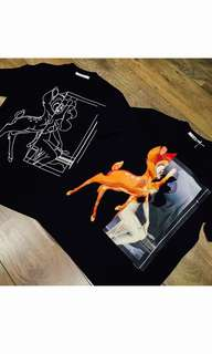 🎉🛍 Authentic GIVENCHY BAMBI Tee