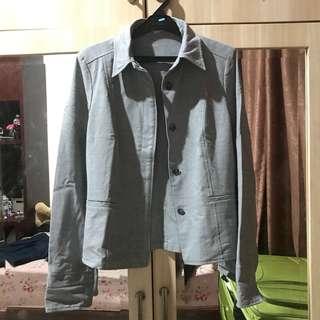 Grey blazer (stretchable)