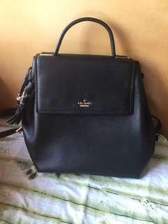 Kate Spade backpack kingston-drive-simona black 黑色背包 有單 有防塵袋 有牌(已剪) 原價3300 只用過一次