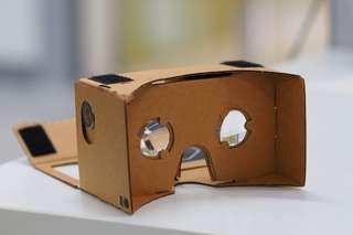 3D VR glasses DIY set