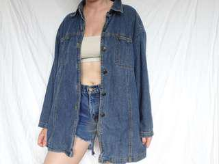 Oversized Denim Shirt/Jacket