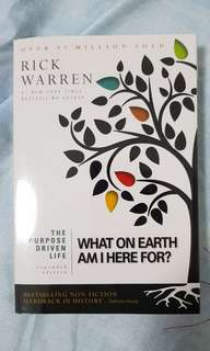 What on Earth... book by Rick Warren