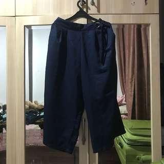 Navy blue kulot