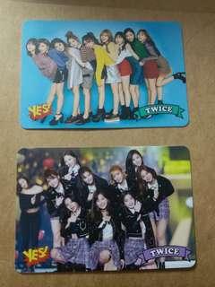 Twice 全員Yes Card