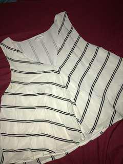 Club Monaco silk tank blouse