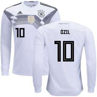Germany 2018 World Cup Home Kit with Long Sleeve