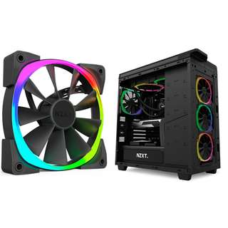 [CLEARANCE PRICE] NZXT Aer RGB 120mm / 140mm Digitally Controlled RGB LED Fans