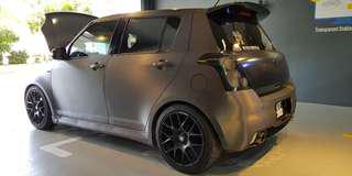 Suzuki Swift 1.5 Auto 2009 CKD For Sale With NICE Plate Number (** F1 800) & LOTS of Accessories/Parts
