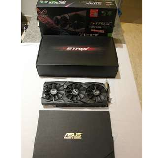 ASUS ROG Strix GTX1080 Advanced 8GB GDDR5X Graphic Card (price is negotiable)
