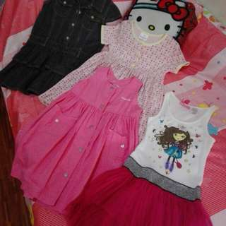 Pre-loved clothes ages 4-6