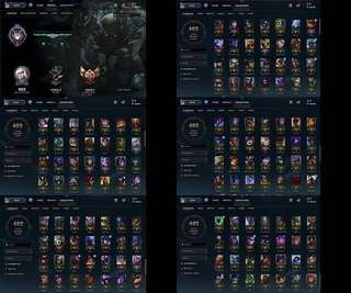 League Of Legends account (Singapore/Malaysia)