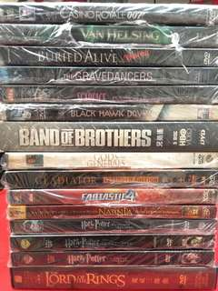 DVD Movies (15 Movie Films) all for Php 350.00