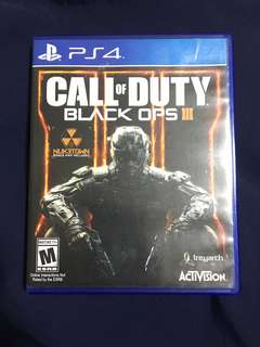 PS4 Game Call of Duty Black Ops
