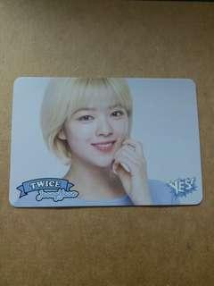 Twice 俞定延 Yescard