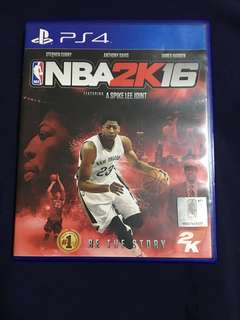 PS4 Game NBA 2K16