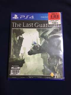 PS4 Game The Last Guardian