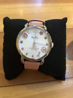 Coach watch rose gold