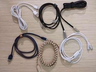 各款精美耐用充電線 android type-c iPhone usb 線,數據傳輸