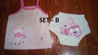 Terno Shirts/Sando and Panty/Shorts Designs Set (Medium)
