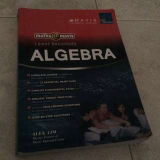 Lower Sec Algebra Maths (U.P $24.95)