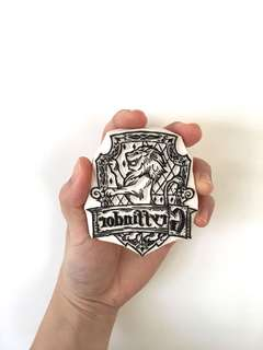 🚚 Customise Rubber Stamp Gryffindor
