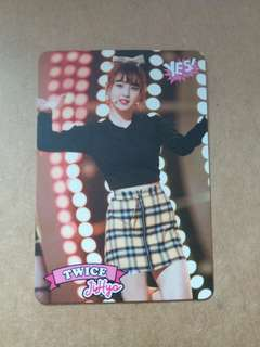 Twice JiHyo Yes Card
