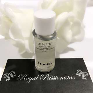BN Chanel Le Blanc Lotion Toner. 10ml.