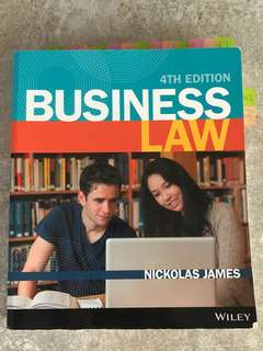 RMIT commercial law textbook 4th edition
