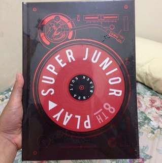 [flash sale sd Pk 22.00] Super Junior 8th Album Play (Black Suit)