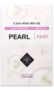 Etude House 0.2 Therapy Air Mask - Pearl