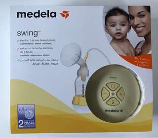 Medela Swing (FREE delivery, Medela nursing pads, malunggay capsules)