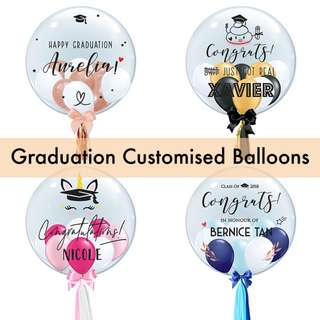 Graduation Customised Balloons
