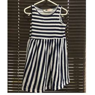Stripe Jersey Dress H&M