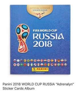 (PRE ORDER) Panini 2018 FIFA World Cup Russia
