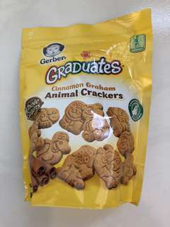 Gerber® Graduates® Cinnamon Graham Animal Crackers/Biscuits