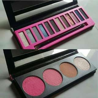 TAKE ALL LA GIRL EYESHADOW AND BLUSH PALETTE #maudecay