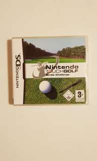 Nintendo Touch Golf game