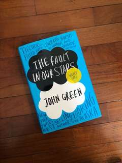 🚚 Signed Copy of John Green's The Fault in Our Stars