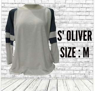 NEW! SALE S. OLIVER LONGSLEEVE