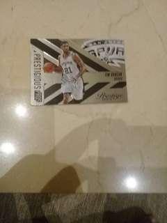 NBA CARDS TIM DUNCAN PRESTIGE