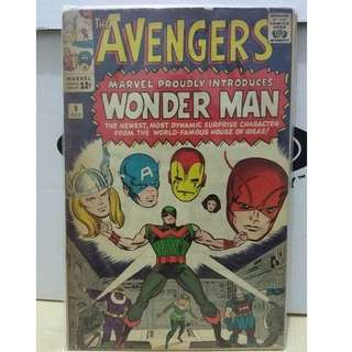 🚚 Avengers Vol. 1 #9 - 1st appearance of the Wonder Man